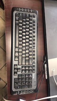 black and gray corded computer keyboard Grasonville, 21638