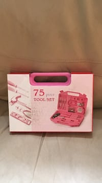 75-piece tool set box