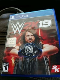 WWE 2K18 PS4 game case