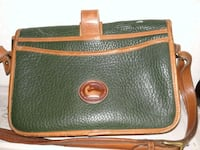 green and brown leather crossbody bag Houston, 77072