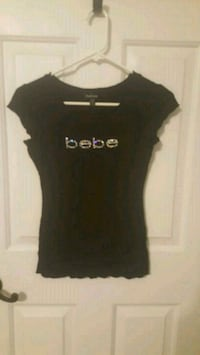 BEBE black crew neck t-shirt King George, 22485