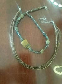 silver and brown beaded necklace Martinsburg, 25403