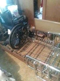 Medical bed an chair