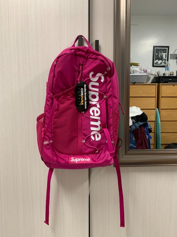 fcde0886ce5b Used Supreme backpack ss17 for sale in New York - letgo