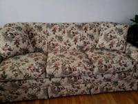 Floral lazyboy sofa like new Odessa