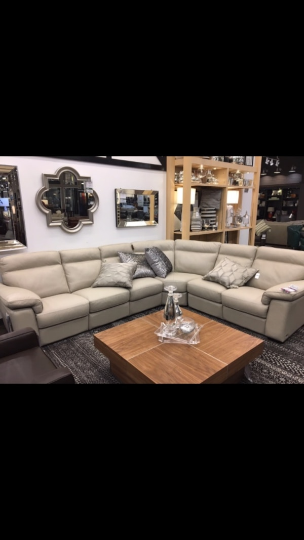 Admirable Natuzzi Editions B797 Brivido Reclining Sectional Leather Sofa For 2299 00 Ibusinesslaw Wood Chair Design Ideas Ibusinesslaworg