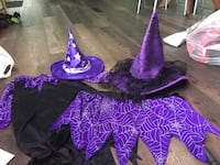 Mother and daughter Witch costume