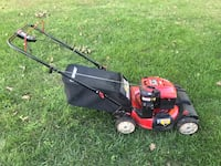 red and black push mower Gainesville, 20155