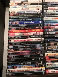50 movie DVDs Coquitlam