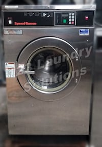 Speed Queen OPL Front Load Washer 200-240v 1/3Ph 40lbs SC40ANVXU6001 Used 2256 mi