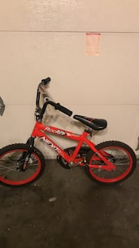 toddler's red and black bicycle Union City, 94587