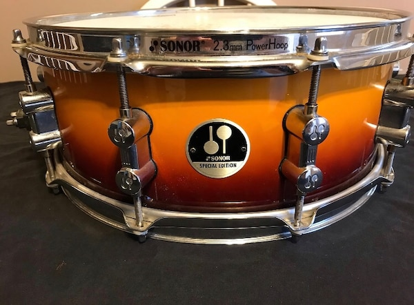 used sonor special edition 14 x 5 snare drum for sale in colonial heights letgo. Black Bedroom Furniture Sets. Home Design Ideas