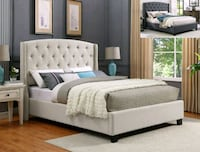 QUEEN SIZE BED (BRAND NEW)(((MATTRESS NOT INCLUDED Perris, 92571