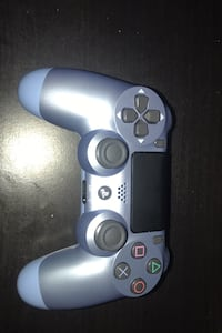 Baby blue PS4 controller