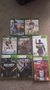 Xbox One and Xbox 360 games Whitby, L1M