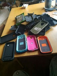 Phone cases, including 4 OtterBox cases