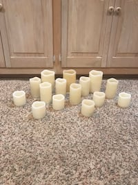 15 battery operated candles (manual/timer settings; flicker lights) Olney, 20832