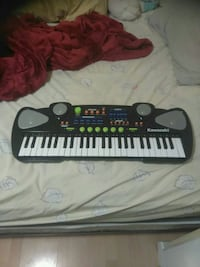 black and gray Kawasaki electronic keyboard Edmonton, T6A 1H5