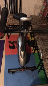 black and gray stationary bike Toronto, M9L 1C6