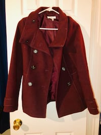 Red Button Up Coat Fairfax, 22030