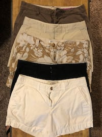 Old Navy size 4 women's shorts $7 each or all for $30 Temple, 76502