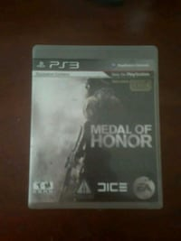 Sony PS3 Medal of Honor game case Fort Worth, 76111