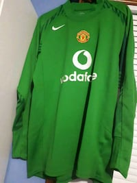 green and yellow adidas jersey shirt Kitchener, N2K 1N9