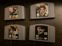 N64 games lot Kitchener, N2P 2A6