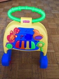 baby's yellow and blue activity walker Richmond Hill, L4E 3P6
