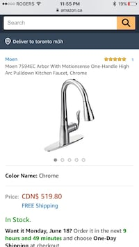 stainless steel faucet with faucet screenshot Markham, L3T