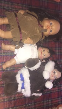 two white and brown bear plush toys Montreal, H3W 2E7