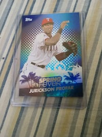Jurickson profar baseball card Riverbank, 95367