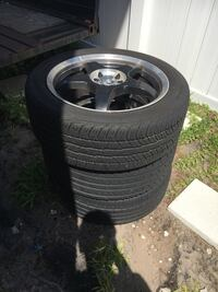 3 Tires and rims GREAT CONDITION Orange Park, 32065