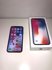 Rymdgrå iphone x med box Стокгольм, 163 61