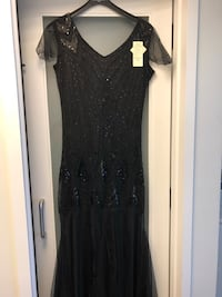 Evening dress or Halloween flapper costume Never Used Vaughan, L6A