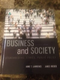 Business and Society Textbook Toronto, M5G 0B1