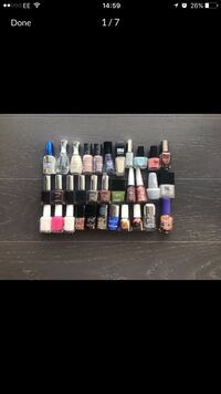 Selling my nail polish collection. Some brand new, rest nearly new London, E20