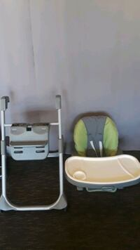 High chair Graco, practicaly new.  Riverside, 92503