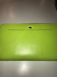 green leather long wallet Cambridge, N1S 5B9