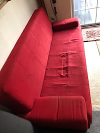 Futon red  Centreville, 20121
