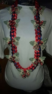 red, blue, and green necklace King City, 93930