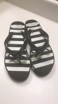 Kate Spade Black and white sandals  Damascus, 20872