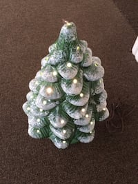 mini ceramic christmas tree