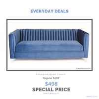 Canadian made sofa is now at sale special discounted prices Brampton