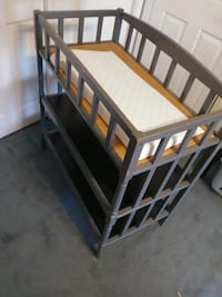 Wood Baby Changing Table