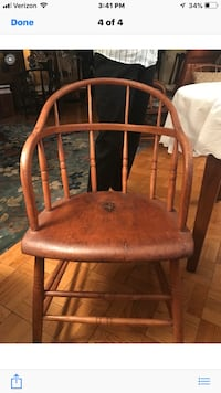 Six oak windsor style chairs, reproduction over 100 years old Washington, 20016