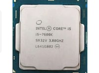 Intel Core I5-7600k cpu Silver Spring, 20906