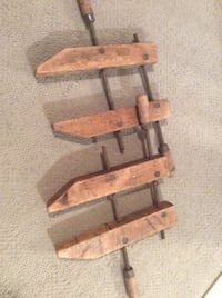 Vintage wood clamps Richmond Hill, L4C 0E4