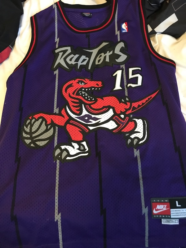 best loved 748a6 0bac8 Used Vince Carter Jersey Nike Raptors Clasic for sale in ...
