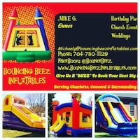 BIRTHDAY PARTY BOUNCE HOUSE RENTALS  Charlotte, 28262